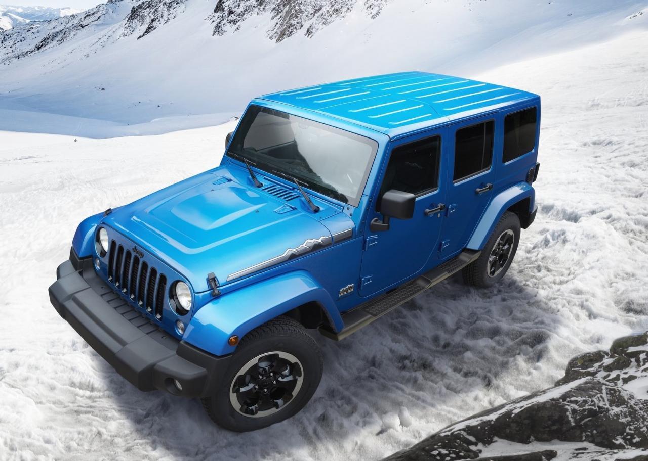 2013 Jeep Wrangler Polar limited edition 6