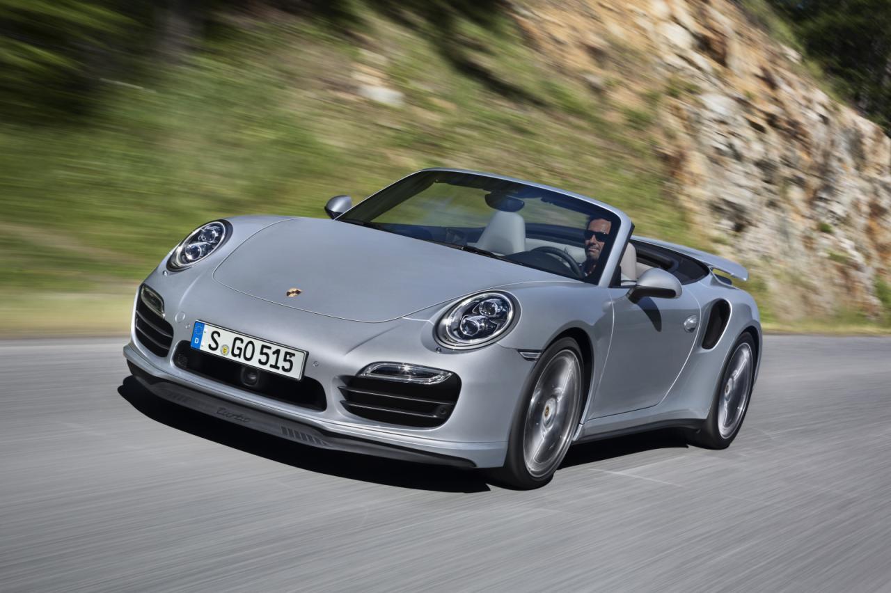 2014 Porsche 911 Turbo Convertible 2