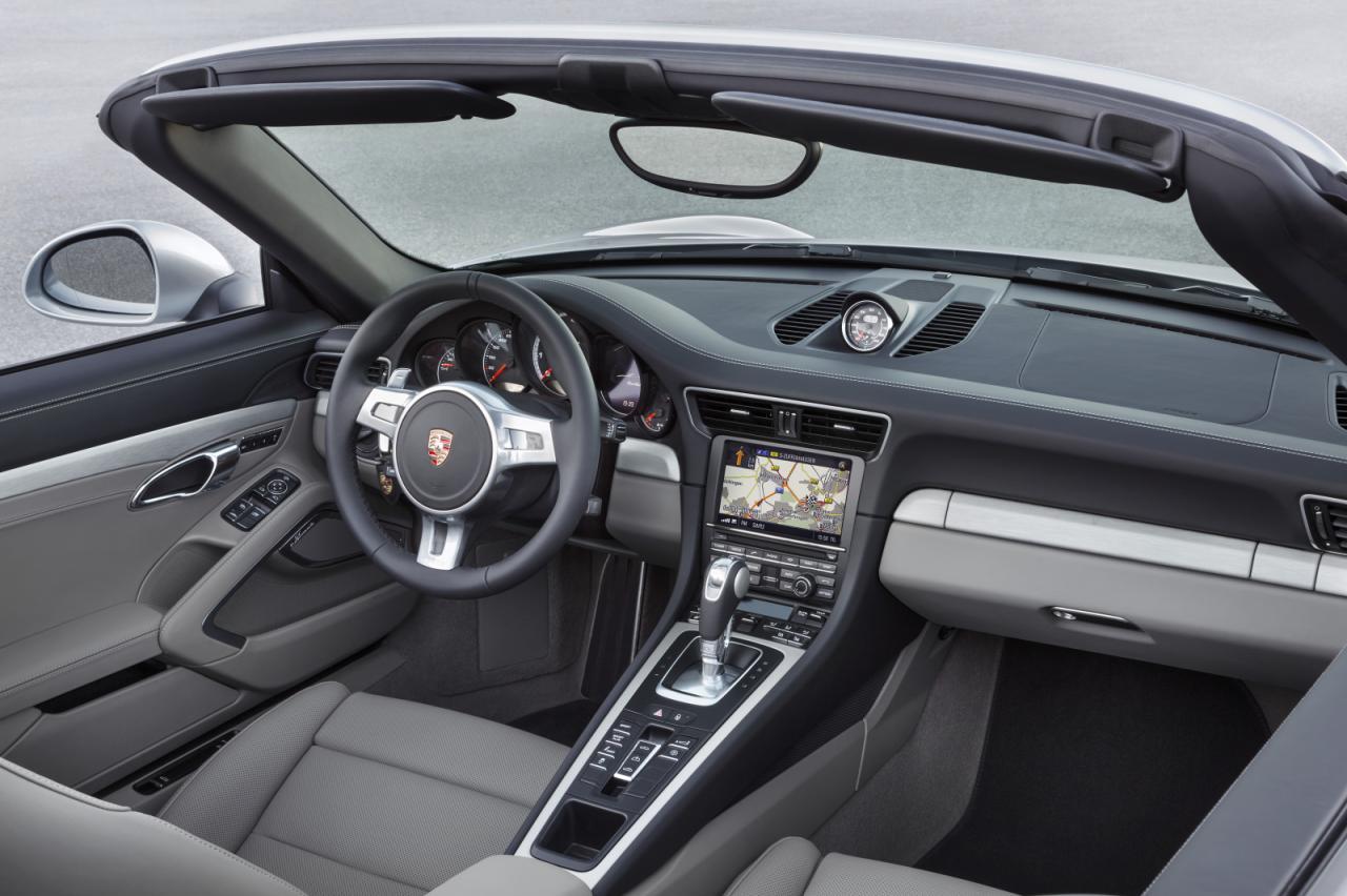 2014 Porsche 911 Turbo Convertible 6