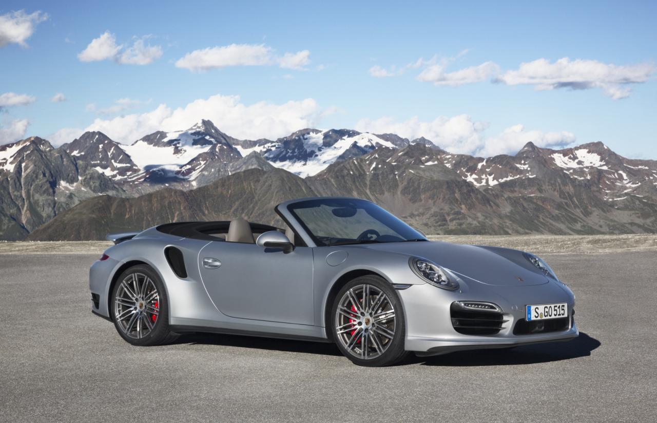 2014 Porsche 911 Turbo Convertible 7