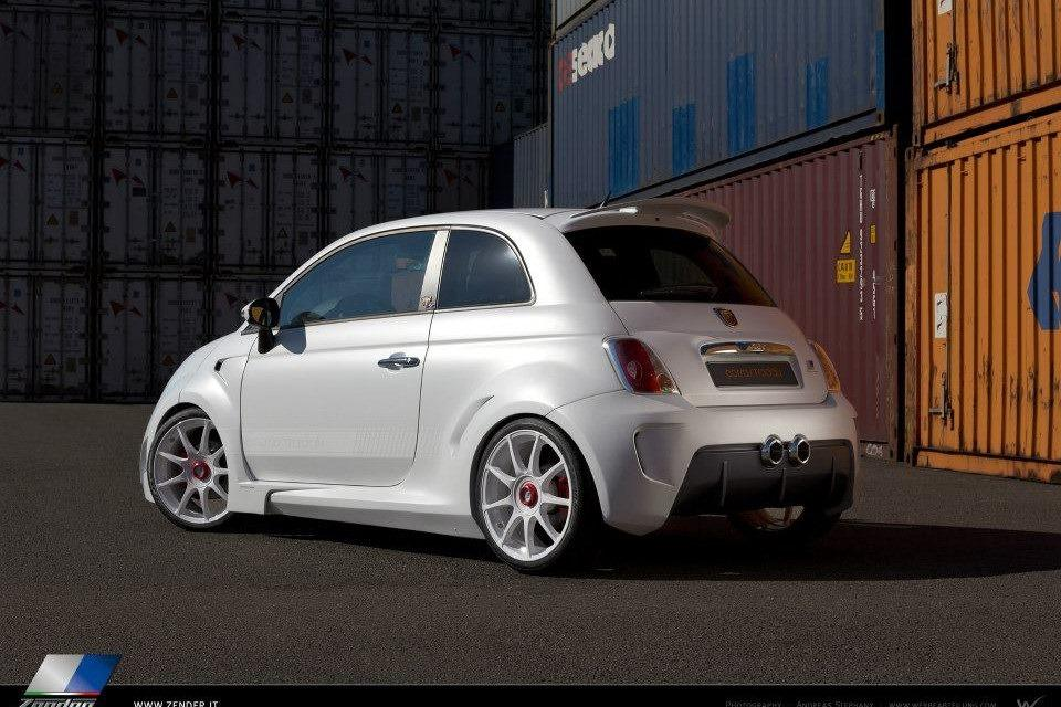 Abarth 500 Corsa Stradale concept by Zender 10