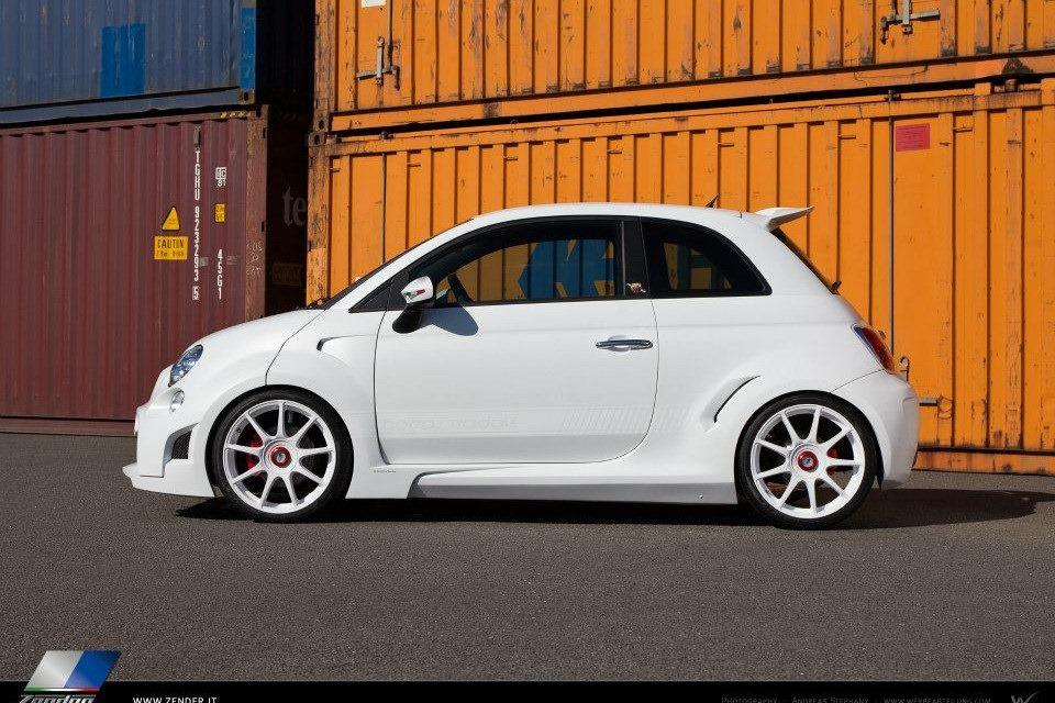 Abarth 500 Corsa Stradale concept by Zender 2