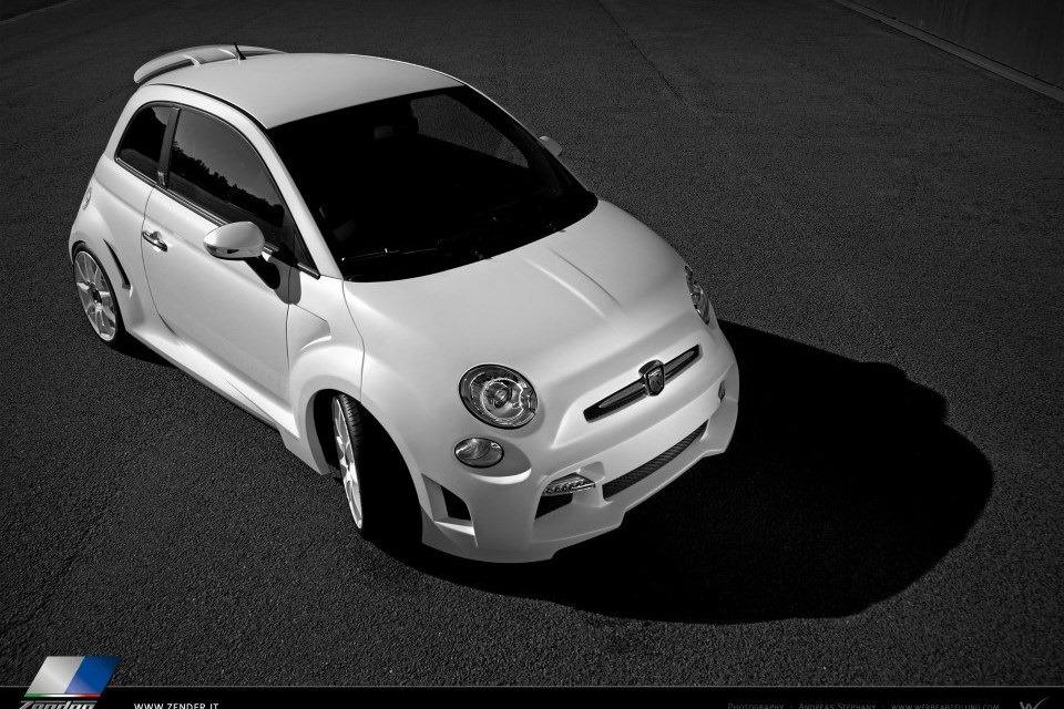 Abarth 500 Corsa Stradale concept by Zender 9