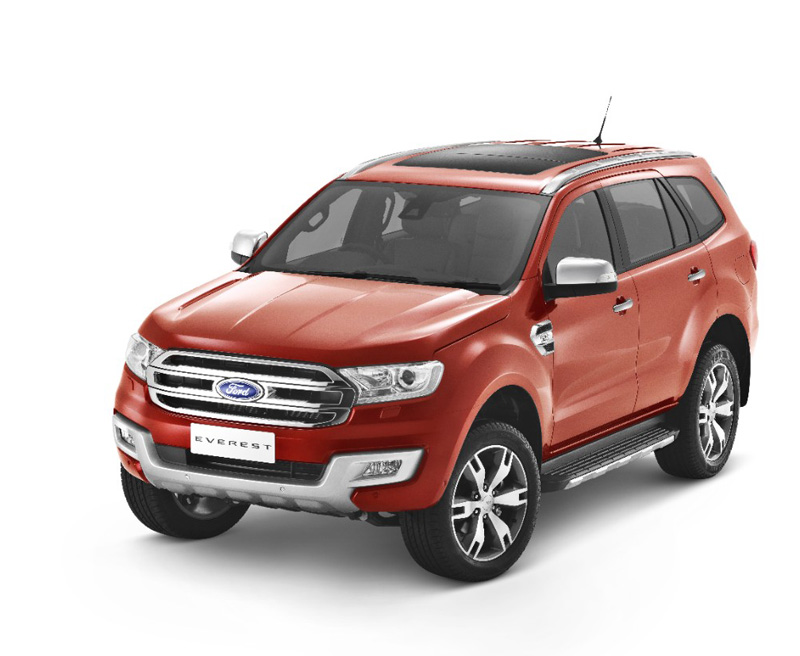 New Ford Everest 1_Front 3qtr